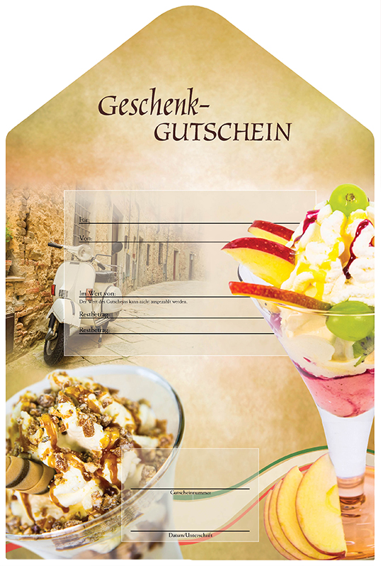 gutschein ital eis 2 geschenk gutscheine vetrogel24 eisgl ser eisbecher gelateria more. Black Bedroom Furniture Sets. Home Design Ideas